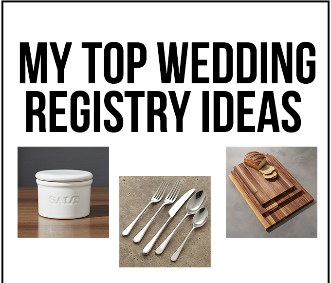 My top wedding registry ideas little bits of my top wedding registry ideas little bits of junglespirit Images