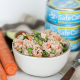 This Spring Veggie Tuna Salad is a great way to add seasonal produce into a quick and high protein weekday lunch!