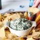 This Dairy Free Cashew Spinach Artichoke Dip is the perfect paleo appetizer for any party!