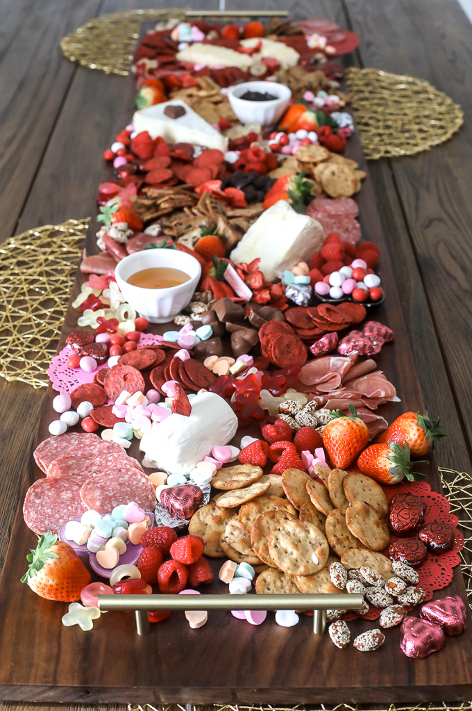 Valentine S Day Charcuterie Board Little Bits Of