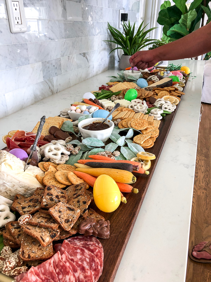 This simple guide will teach you how to put together the ultimate cheese board for your easter gathering!