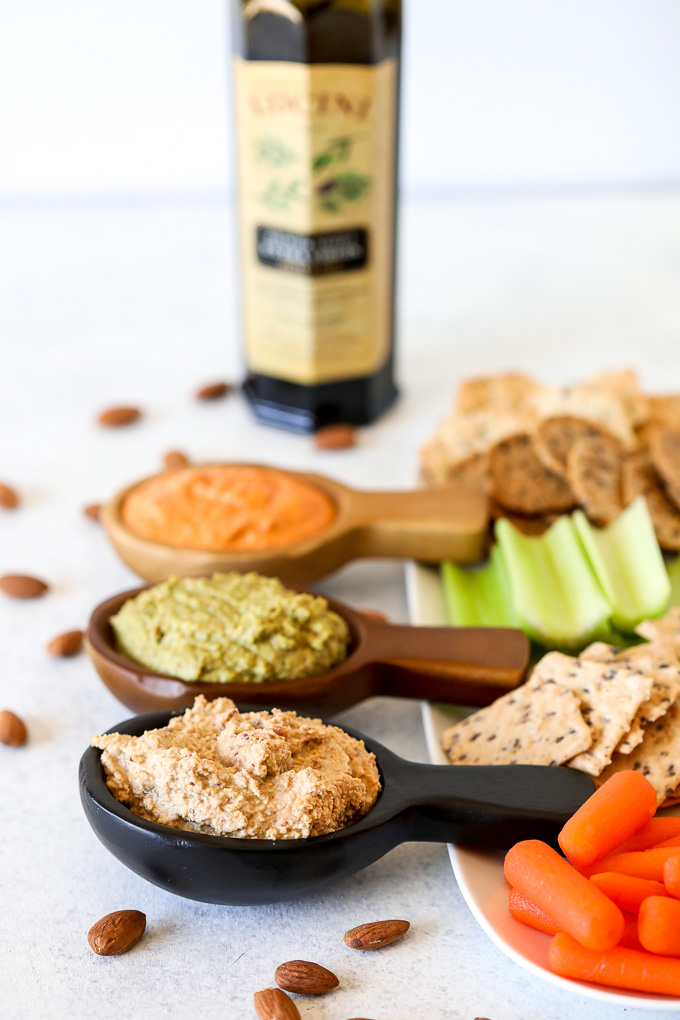 This Whole30 Almond Dip is super simple to make, flavorful and paleo!