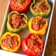 These Chicken Sausage Stuffed Bell Peppers are Whole30 compliant are super easy to make!