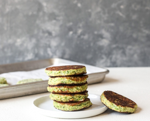 These Broccoli & Cauliflower Veggie Patties are just like the trader joe's version and kids love them!