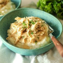 This Instant Pot Creamy Dijon Chicken is Whole30 compliant, simple to make and so delicious!