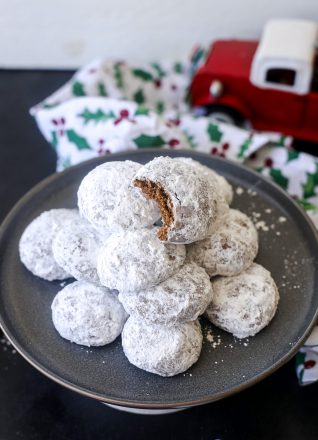 These Grain Free Pfeffernusse are packed with flavor like the original cookie but happen to be gluten free, dairy free and made with real ingredients!